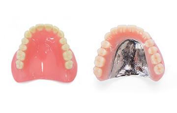 保険と自費の入れ歯の違い